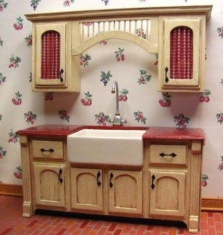 Diy Dollhouse How To Kitchen Cabinets