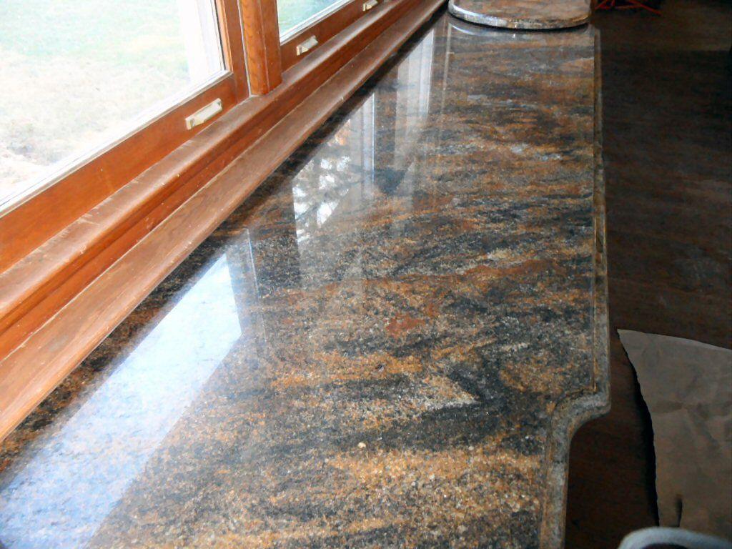 Granit Fensterbänke sind im Innen- wie auch Außenbereich einsetzbar ...