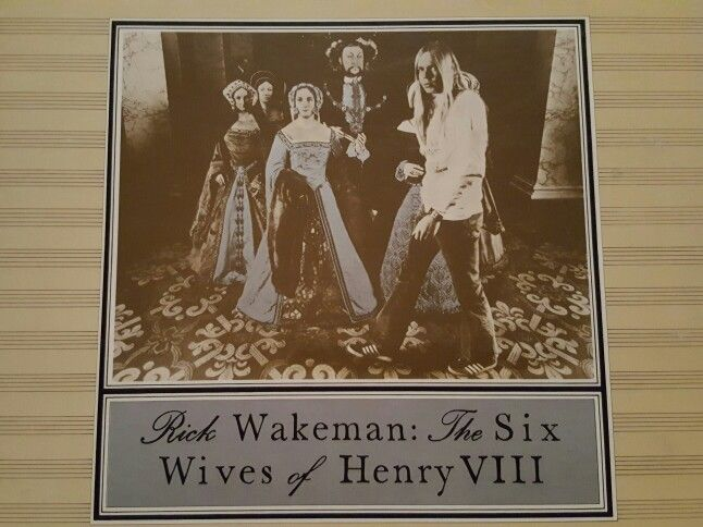 Perhaps This Ensemble Piece Wives Of Henry Viii Rick Wakeman