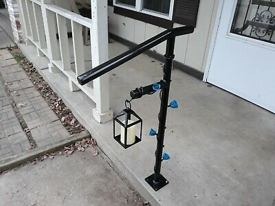 Best Details About New Wrought Iron Handrail Grab Rail Metal 640 x 480