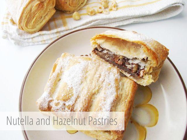 Nutella y avellana Pasteles