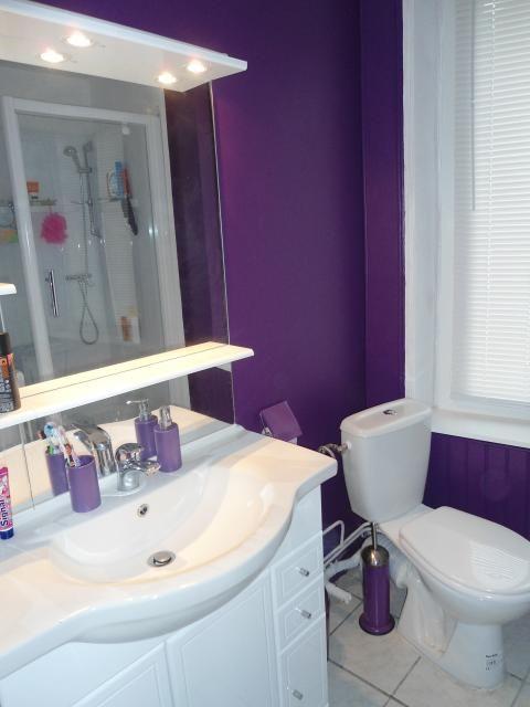 Photos de Salle-de-bain style Moderne/Design Violet Blanc | Salle ...