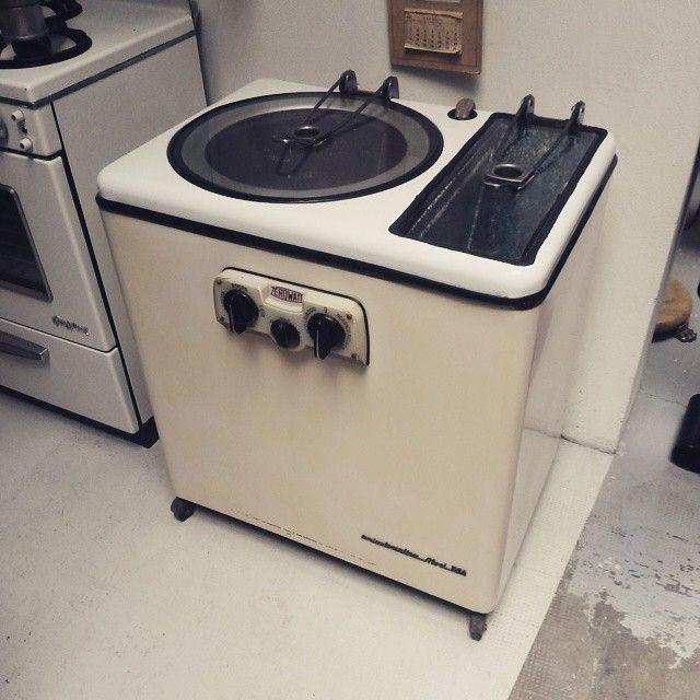 [190€] Lavatrice anni 50 della Zerowatt. Pezzo storico