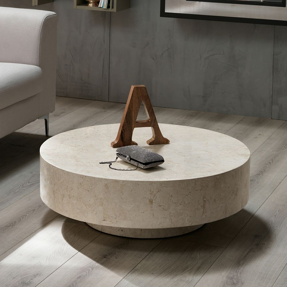 Elle Luxe Marble Round Coffee Table Marble Round Coffee Table Coffee Table Marble Coffee Table [ 1200 x 1200 Pixel ]