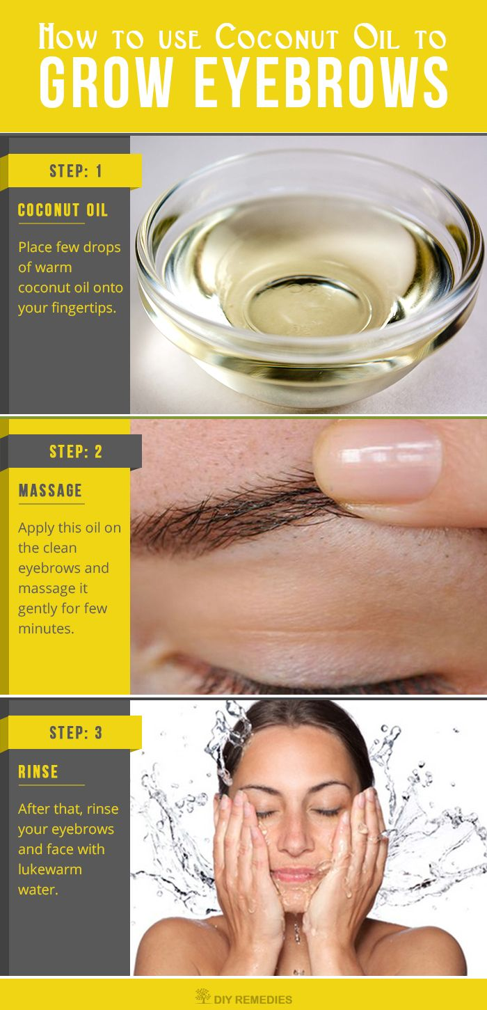 Grow Thick Eyebrows With Coconut Oil I Enjoy A Good Healthskin
