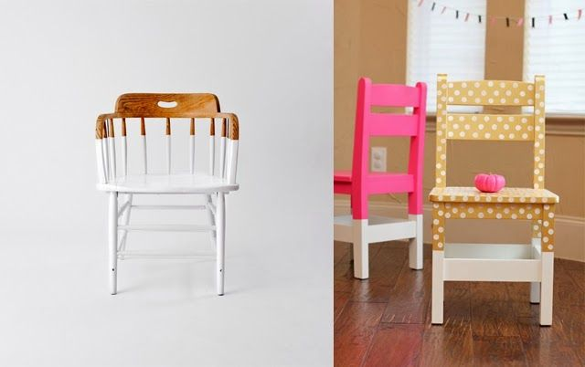 Comment customiser des chaises Table furniture - comment peindre une chaise