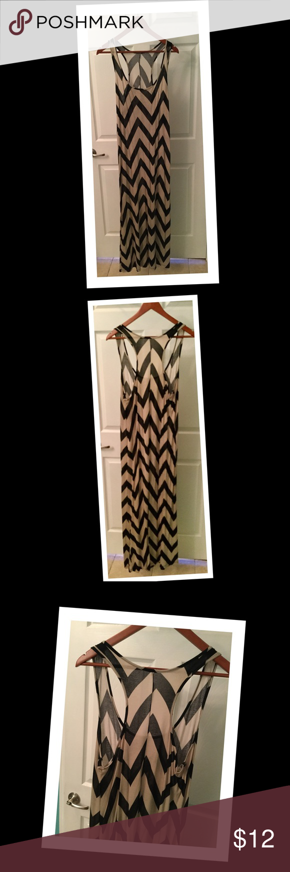 Maxi Summer Dress Lightweight and soft. Racer back. General Wear. No stains or tears. Dresses Maxi