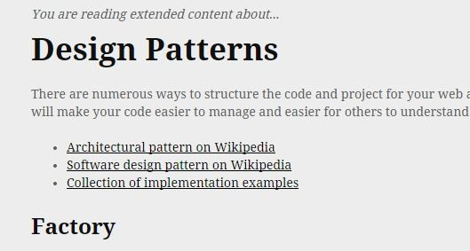 Design Patterns Php The Right Way Software Design Patterns