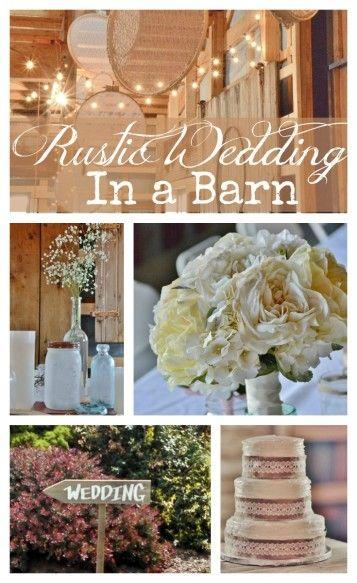 Rustic Wedding In a Barn - Surroundings by Debi