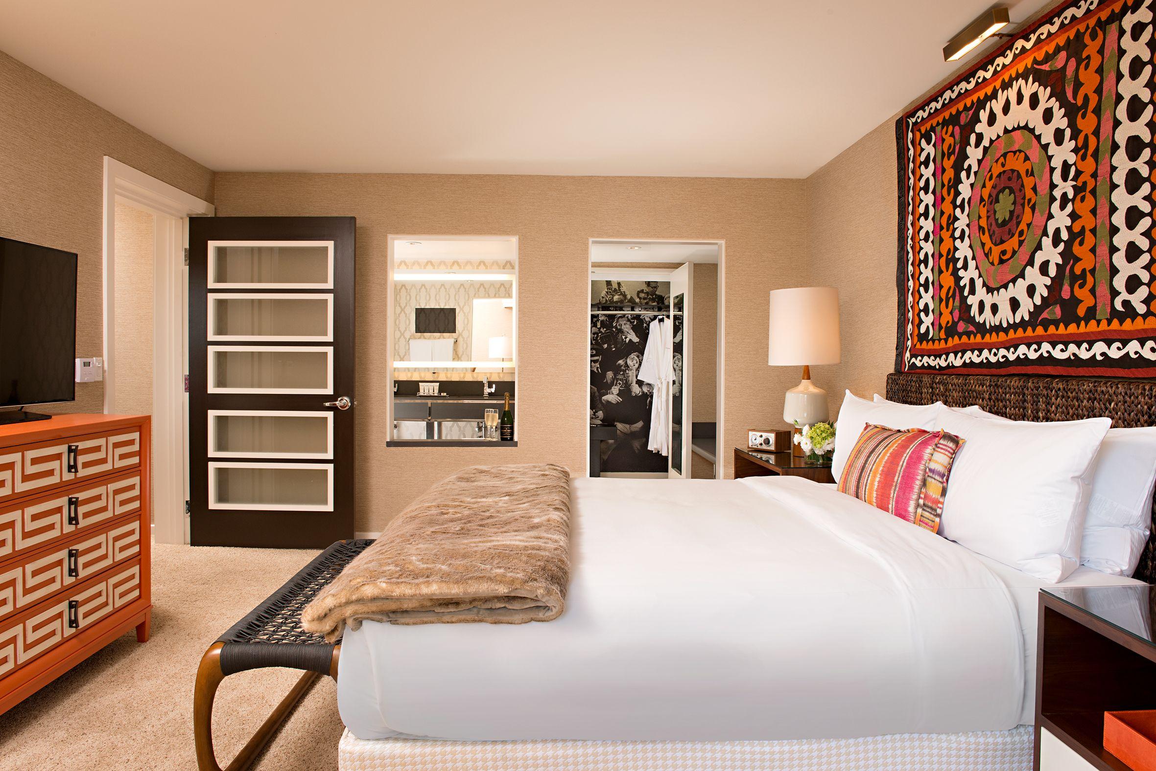 James Suite Bedroom Hollywood Hotel Los Angeles Hotels Hotel