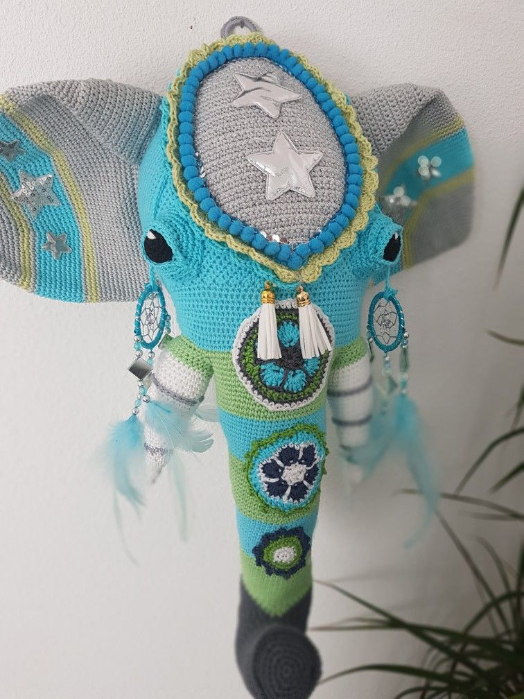 Bollywood Boho Olifant Uit Simply Haken Haken Pinterest