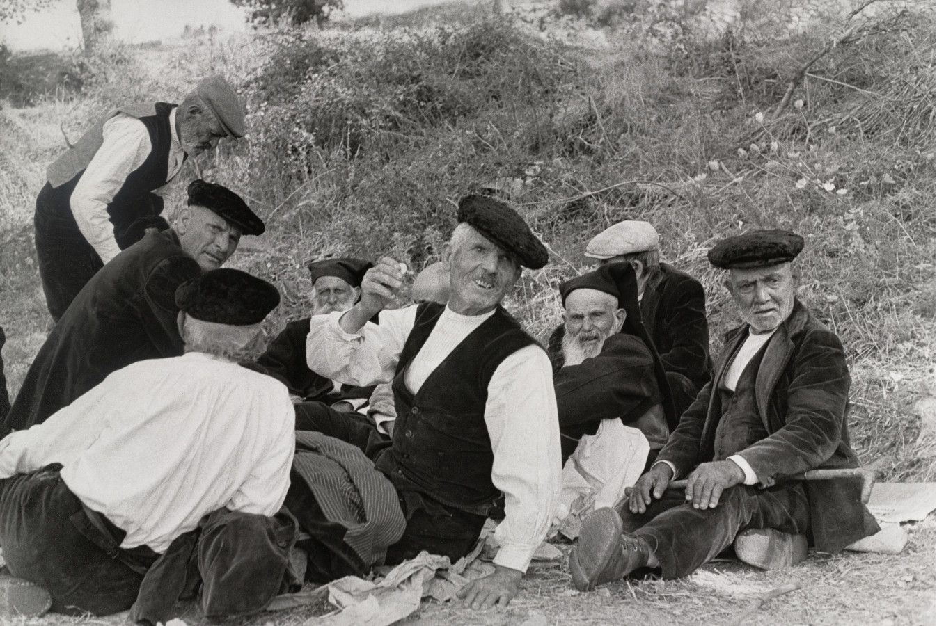 Henri Cartier-Bresson  1962 Orgosolo - Sardinia - Italy