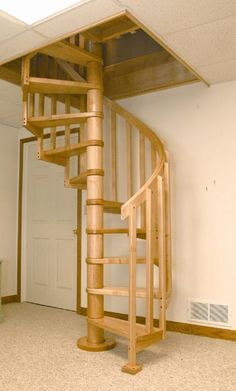 Superior Spiral Staircase To Basement Top View   Google Search