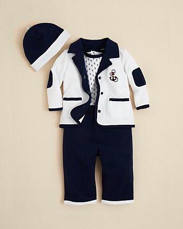 cba5fb01bc9d Little Me Infant Boys  Drop Anchor 4 Piece Set - Sizes 3-9 Months ...