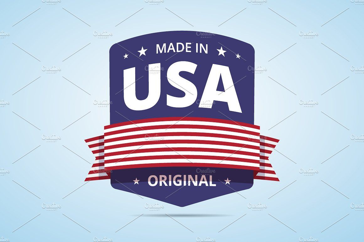 Made In Usa Badge Badge Magazine Design Png Text