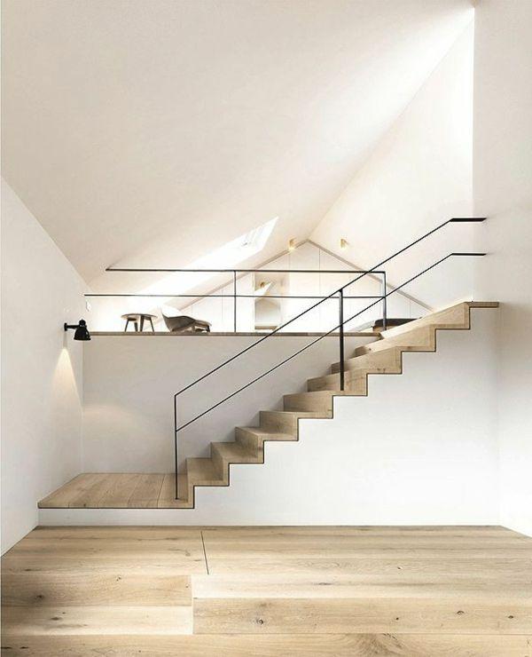 Ausgefallene treppengel nder designs f r die innentreppe for Escaleras metalicas pequenas
