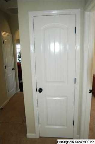 White Doors With Oil Rubbed Bronze Handles And Hinges