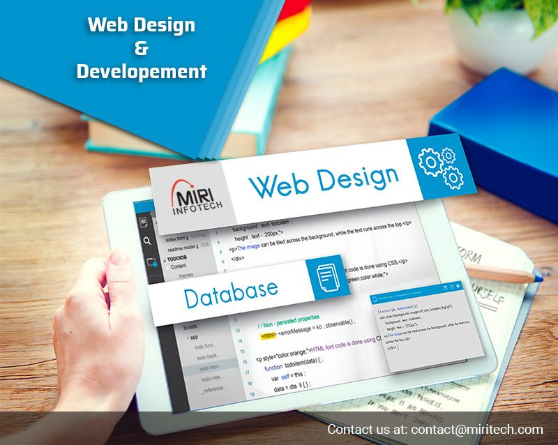 Miri Infotech A Complete It Solution Provider Company Provides The Web Development And Designing Services Web Development Web Development Design Development