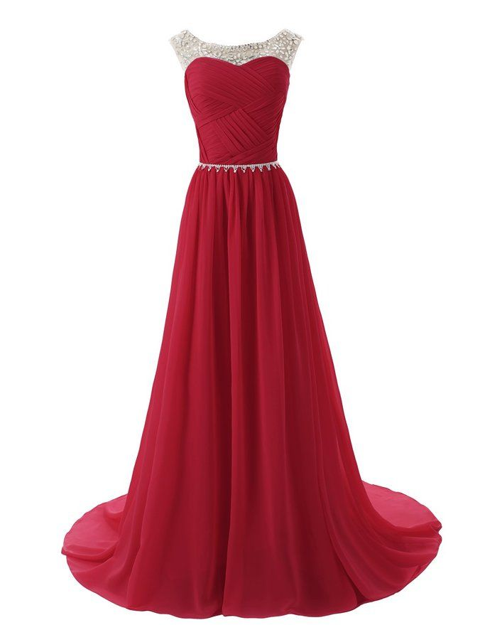 Sparking Red Military Ball Dresses