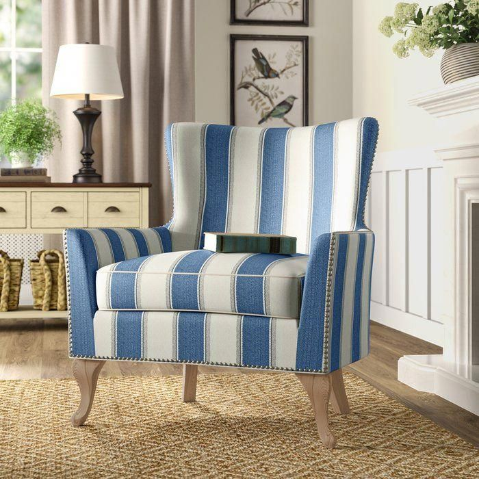 Zubair Armchair In 2019 Wingback Chair Armchair Chair