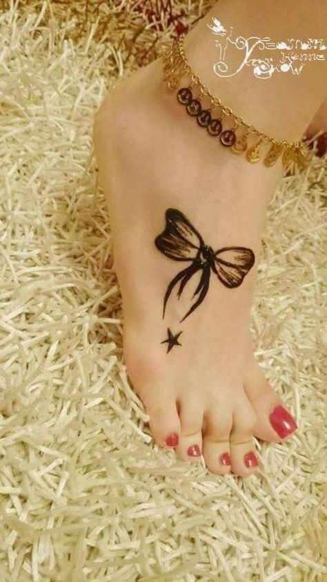 Elegant Foot Tattoo Foottattoos Henna Tattoo Designs Henna Tattoo Henna Designs Hand
