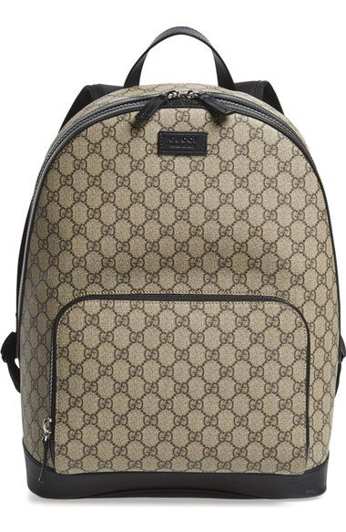 bd3099e87a96 GUCCI Eden Canvas Backpack. #gucci #bags #lining #canvas #backpacks #suede #