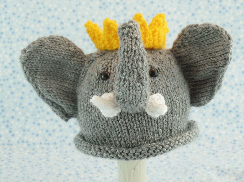95b93f1d576 Cute baby hats Baby elephant hat newborn elephant hat child elephant hat  Babar by IowaGirl1973 on