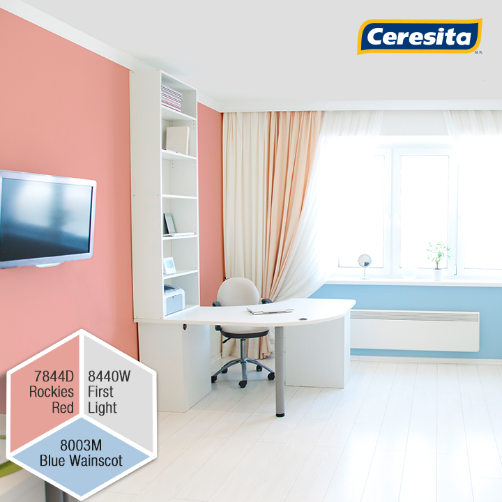 CeresitaCL #PinturasCeresita #Color #HomeOffice #Home #Office ...