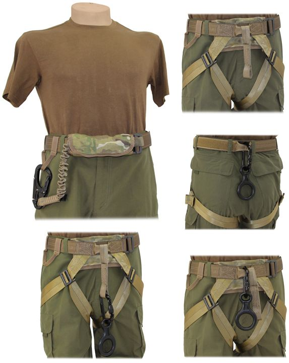 ! OpGear: ! VAPOR Rappelling Harness | Airsoft ...