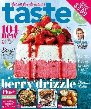 taste.com.au #magazines #November #2015