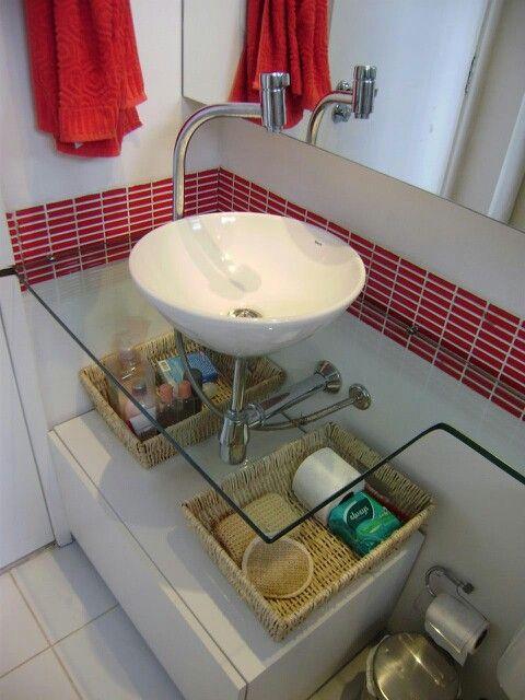 Banheiro Bancada Banheiro Bancadas De Vidro Banheiro