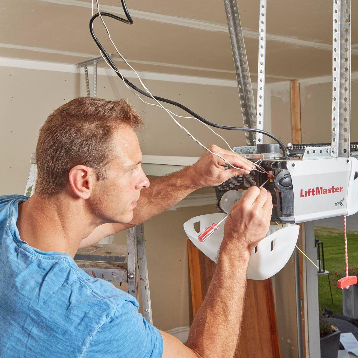 Retrofit Your Garage Door Openers To Work With Wi Fi Garage Doors Garage Door Opener Garage Remodel