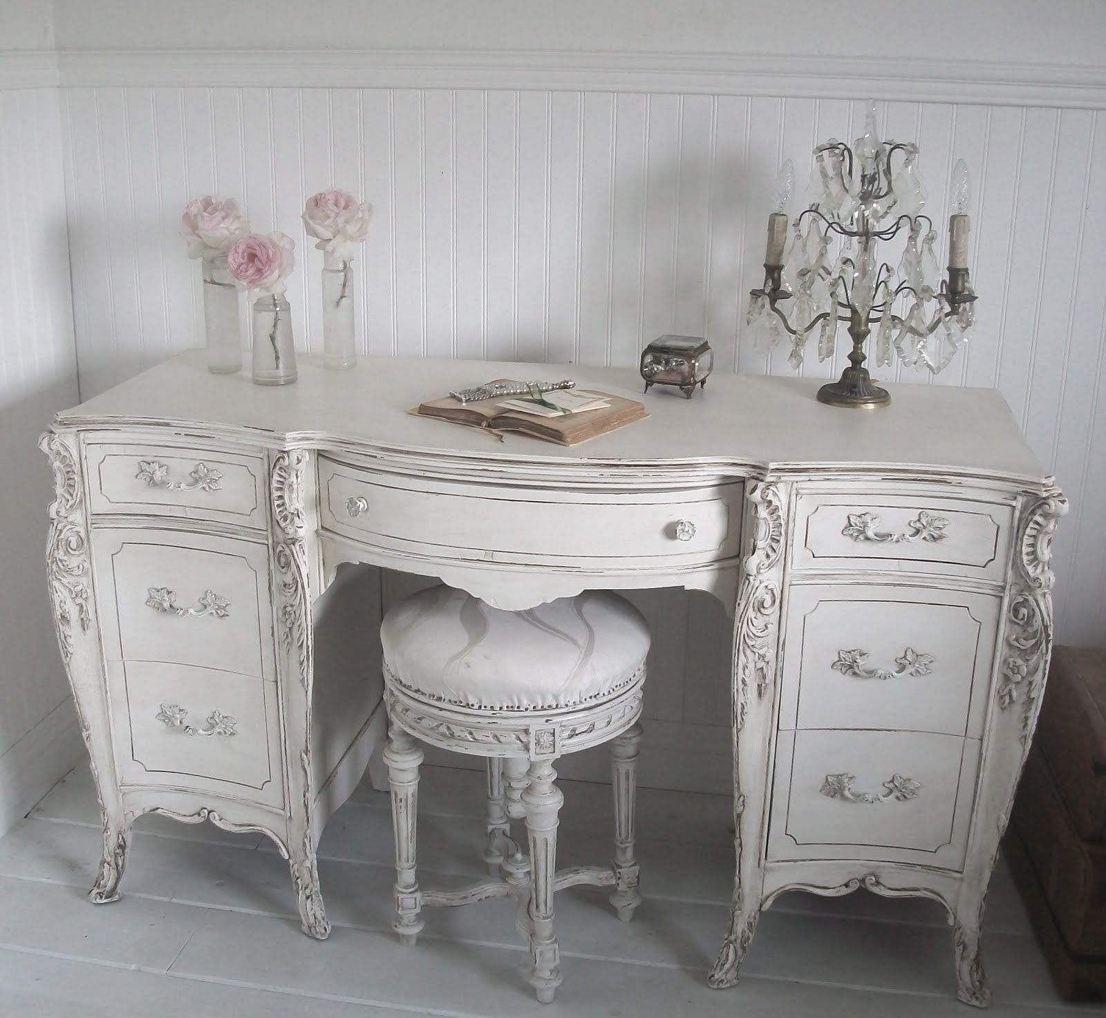 Shabby Chic Furniture: Full Bloom Cottage: French Furniture