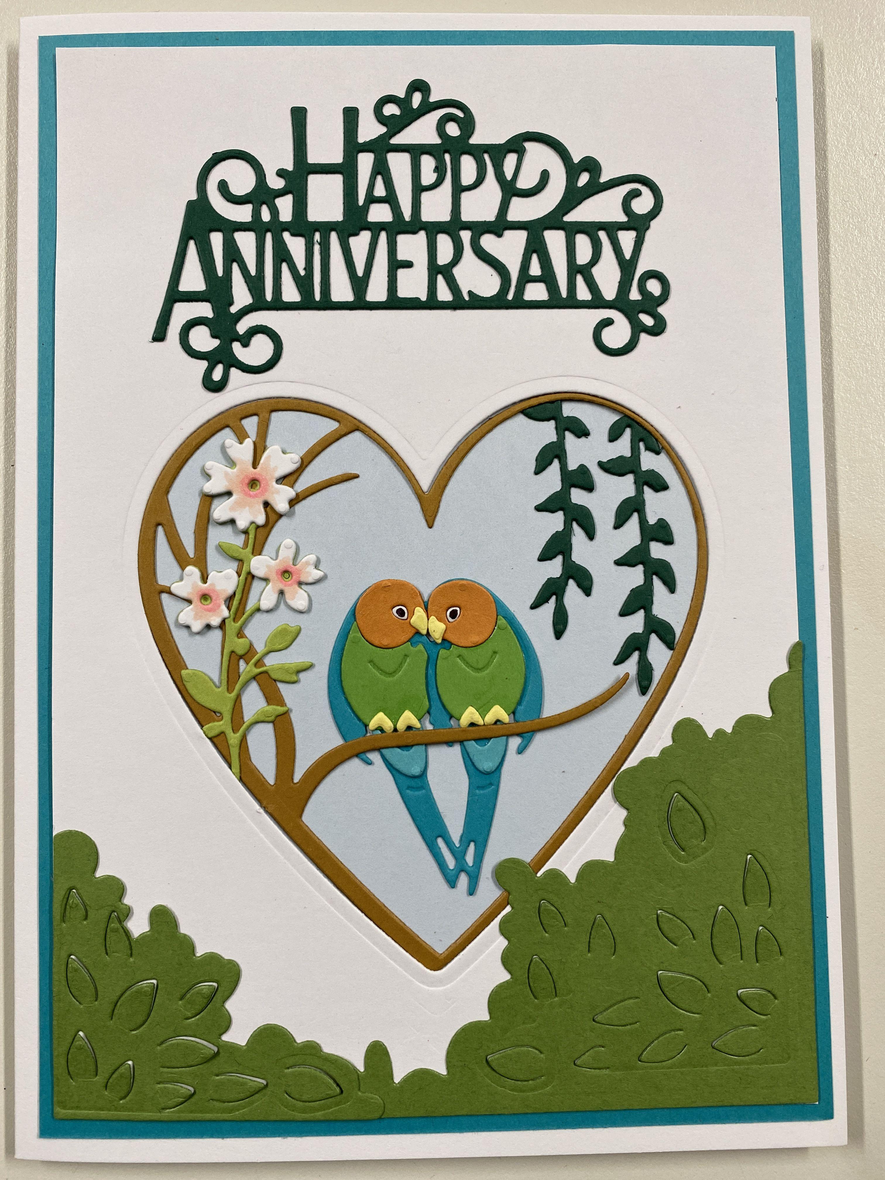 Wedding Anniversary Cards Handmade Hands On Africa You Choose Design Ebay Happy Anniversary Cards Anniversary Cards Wedding Anniversary Cards
