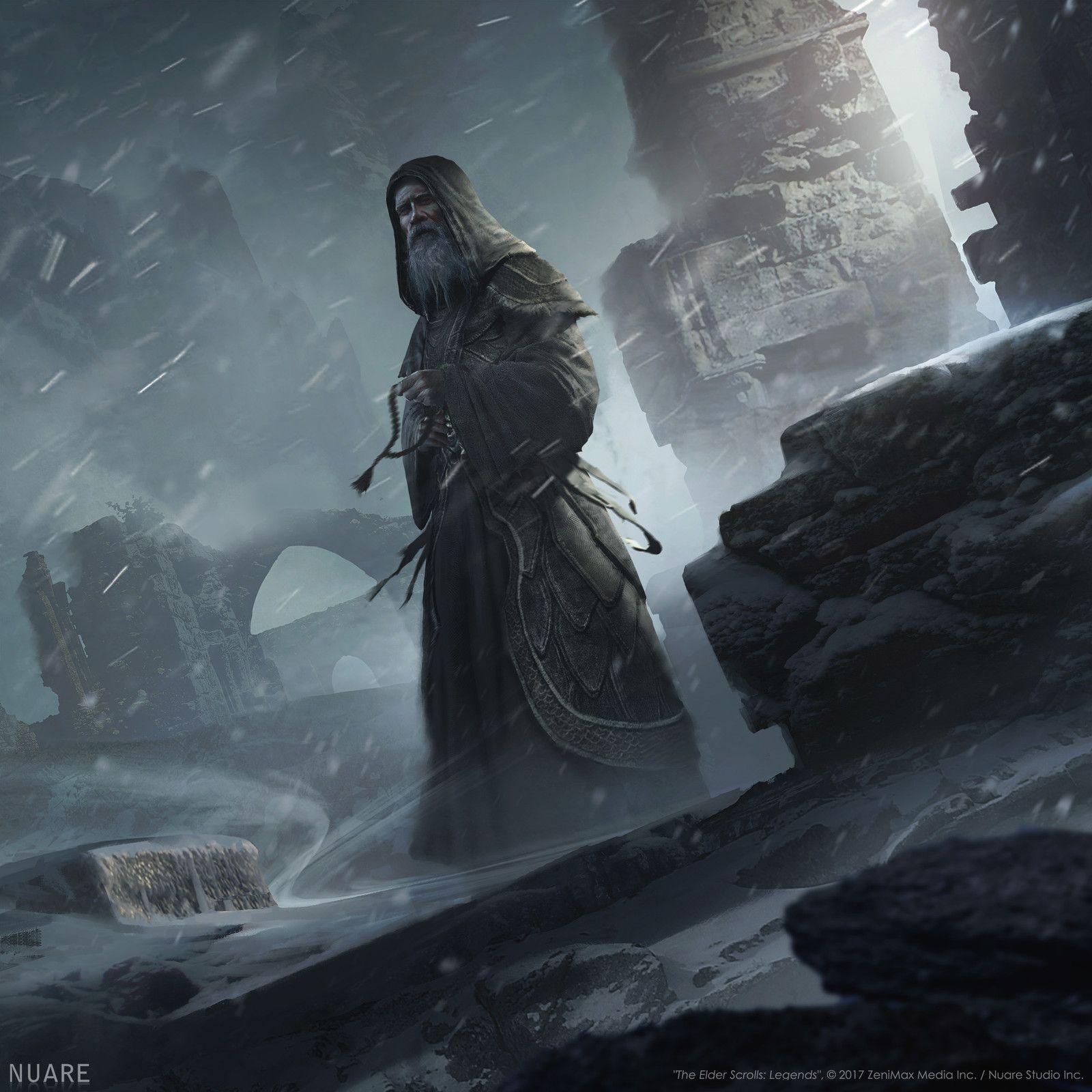 Elder Headless Skyrim Scrolls Horseman