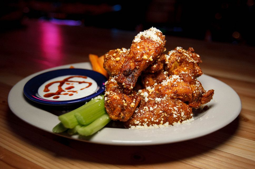 Tapatio Buffalo Wings At Billy Blanco S Motor City Mexican Restaurant In Park T