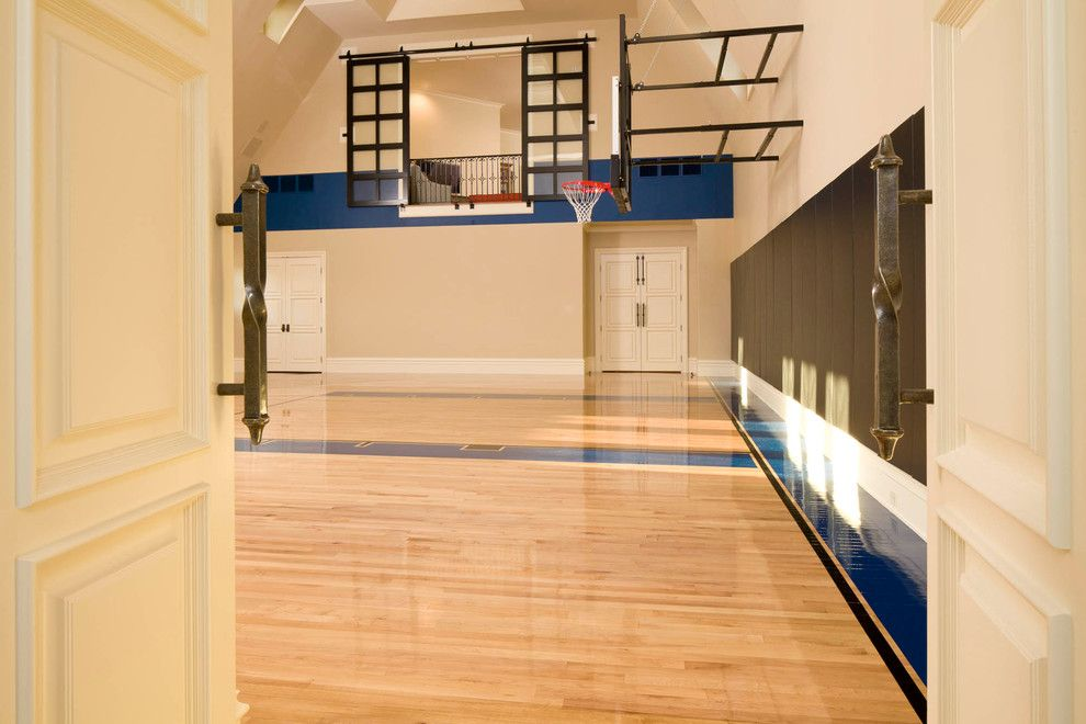 Cool basement basketball court ideas in home gym