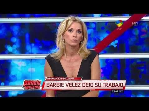 Barbie Vélez y su renuncia al Bailando