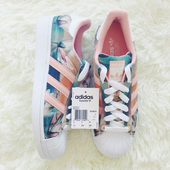adidas floral shoes, Stan Smith Adidas Adidas NEO Womens