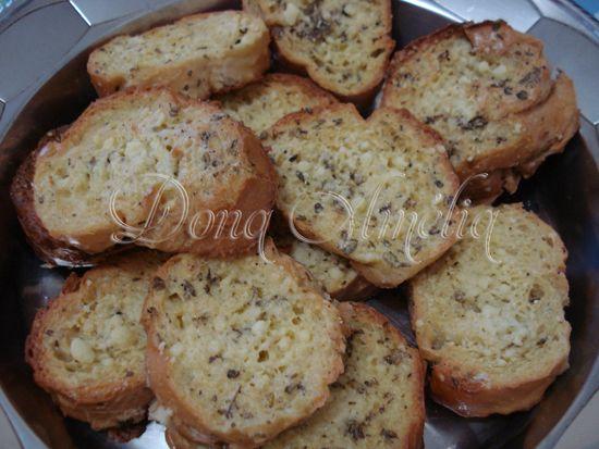 Tapas (receita com pão francês)