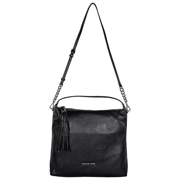 Black Michael Kors Weston Large Shoulder Bag In