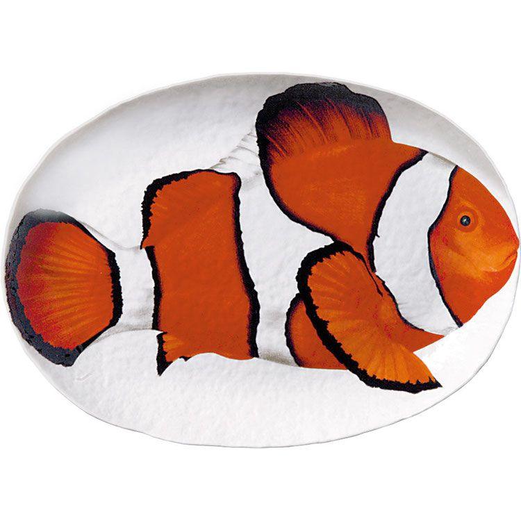 50 78 Portata Ovale Oval Platter Disegni Di Pesci Pesce Pittura