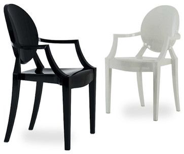 Louis Ghost Chair modern dining chairs and benches | Seating