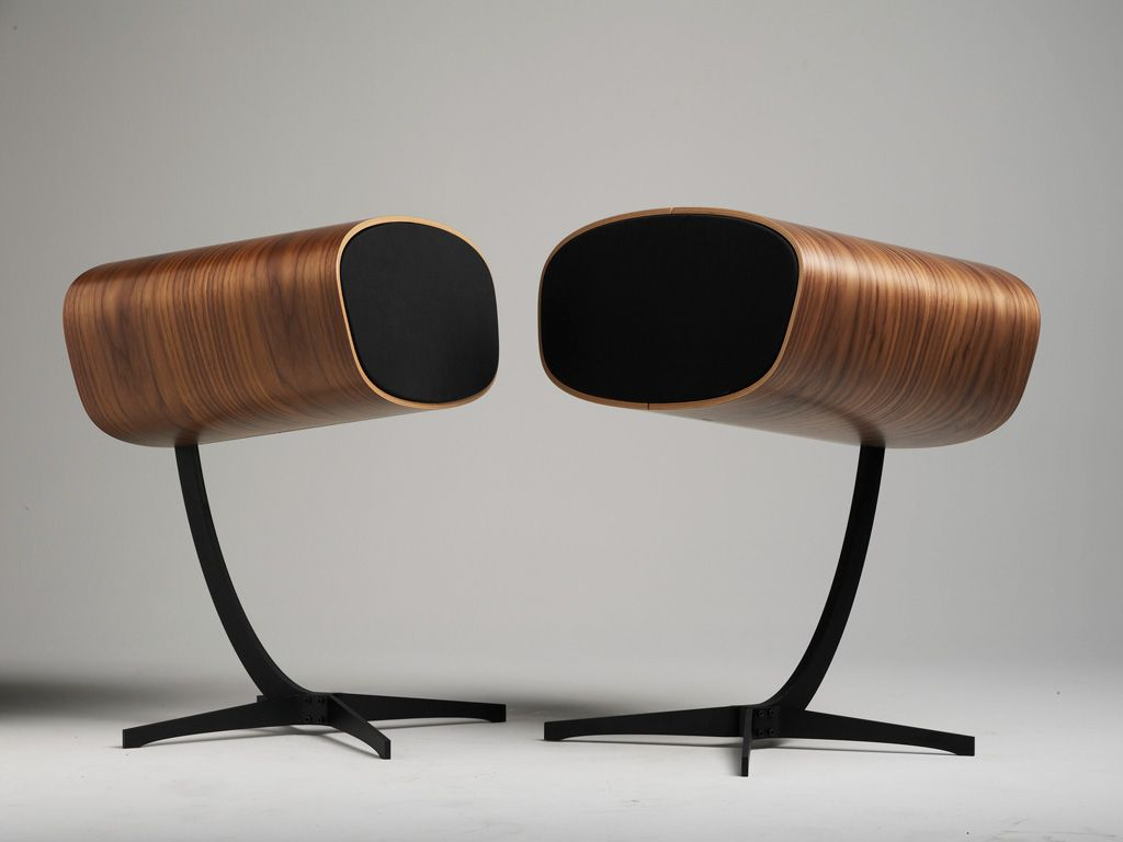 Cool looking HiFi speakers. It's about time they look as good as they sound!