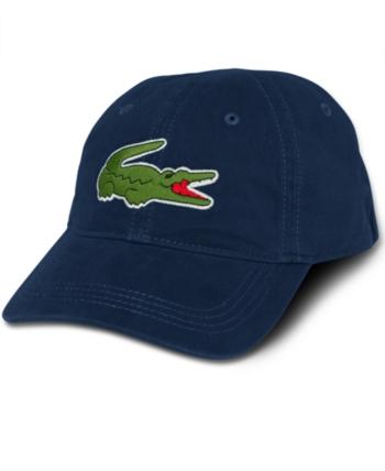 41a06ccab508 Lacoste Men s Large Croc Gabardine Cap - Blue in 2019
