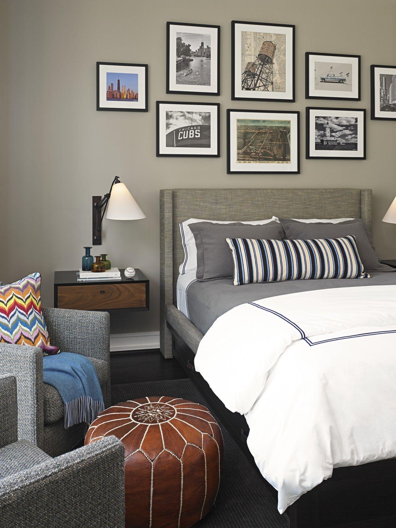 Urban Family Retreat Bedroom Modern