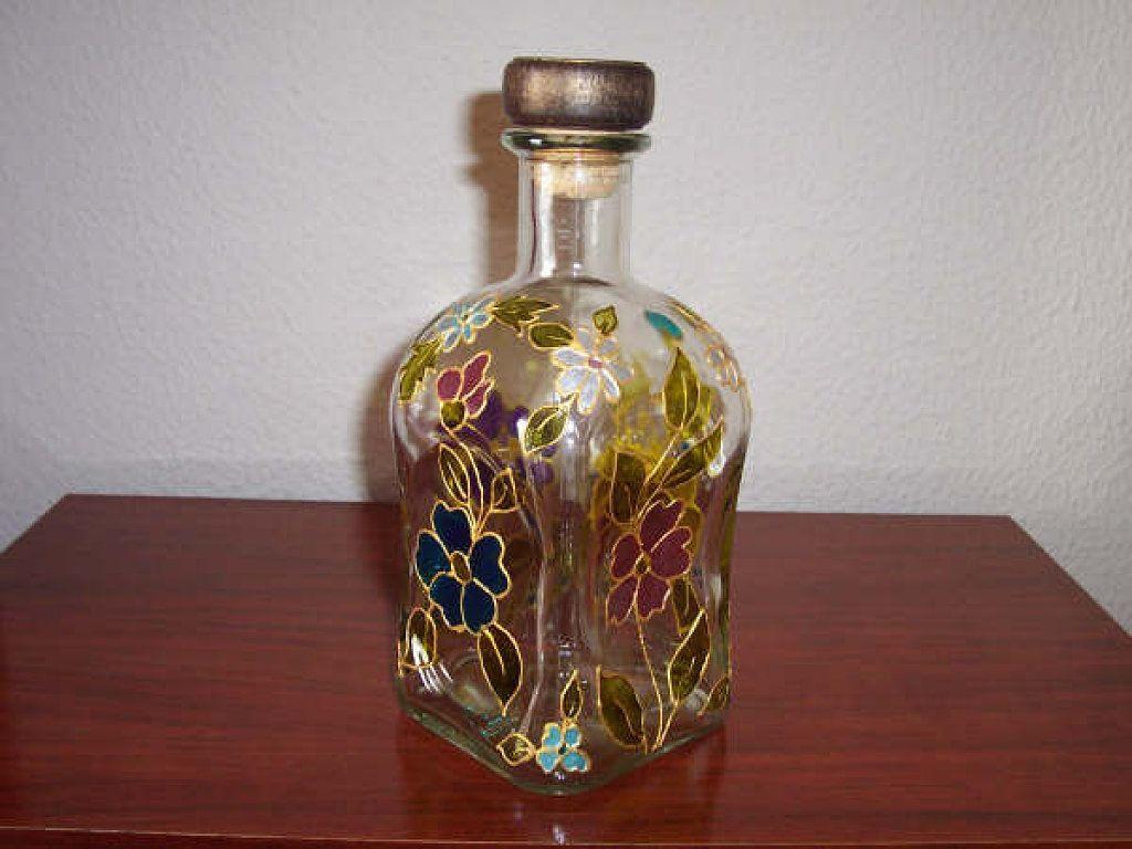 Nuestras botellas decoradas botellas decoradas es facil y frascos - Botellas decoradas manualidades ...