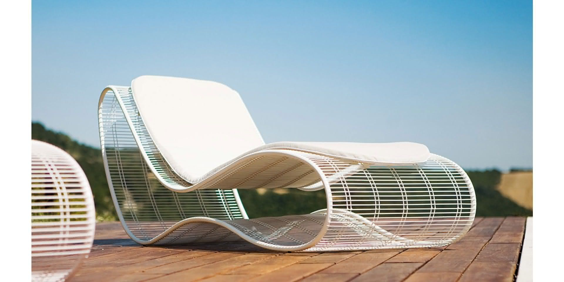 Breez by Karim Rashid Talenti | Outdoor chairs, Sunbed