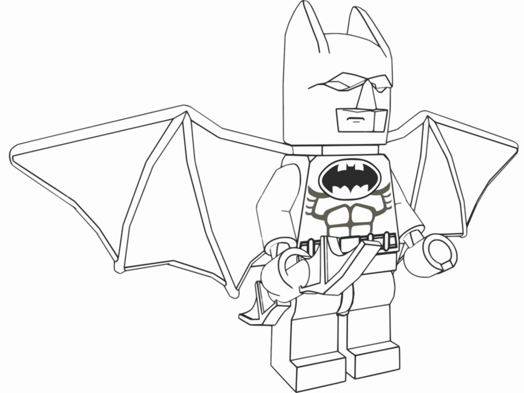 Lego Batman Coloring Pages | Pinterest