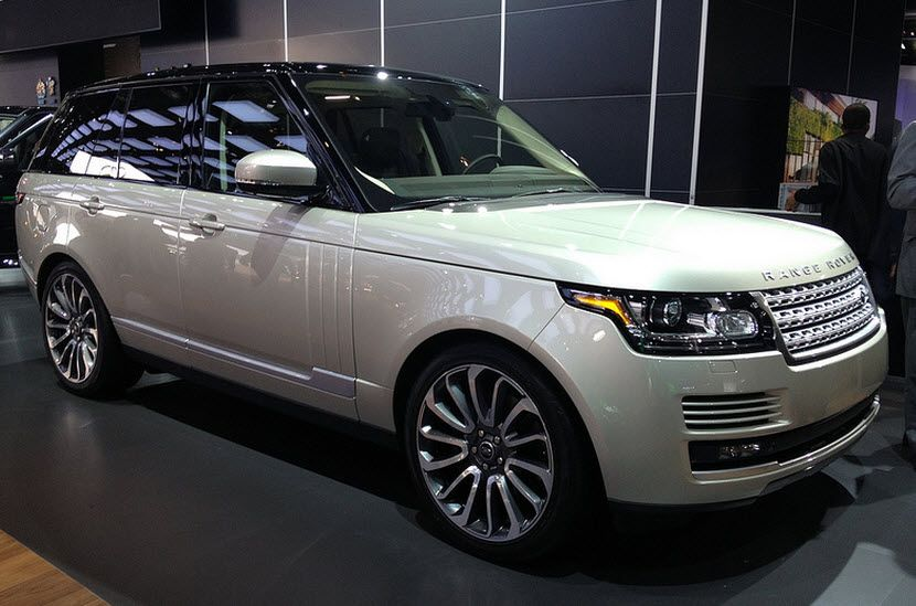 2013 Land Rover Range Rover Supercharged Review Range